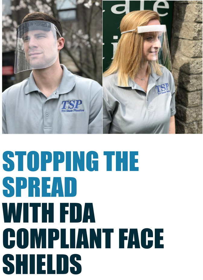 FDA COMPLIANT FACE SHIELDS